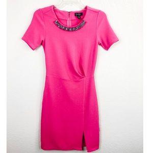 Jessica Simpson Hot Pink Dress